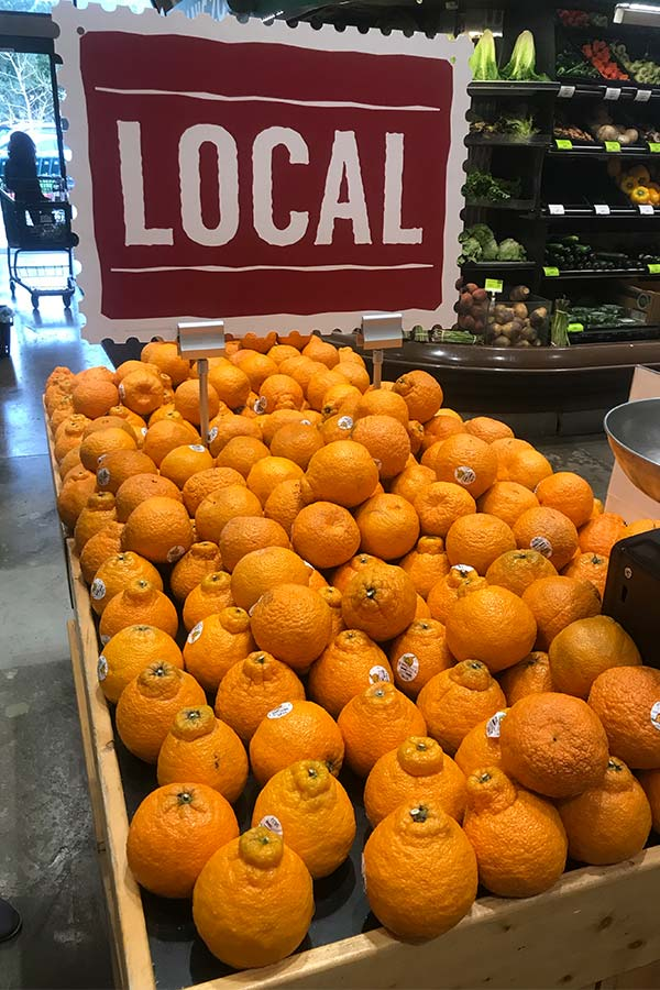 Whole Foods Orangen