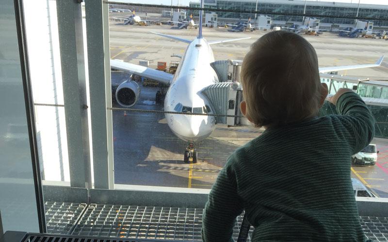 Fliegen mit Kindern unsere Tipps