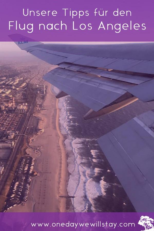Tipps für den Flug nach Los Angeles