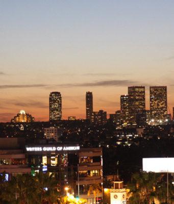 Sehenswürdigkeiten Los Angeles Skyline Los Angeles