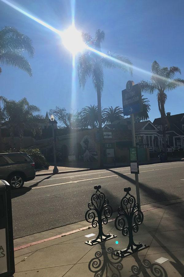 Innenstadt in Ventura Kalifornien