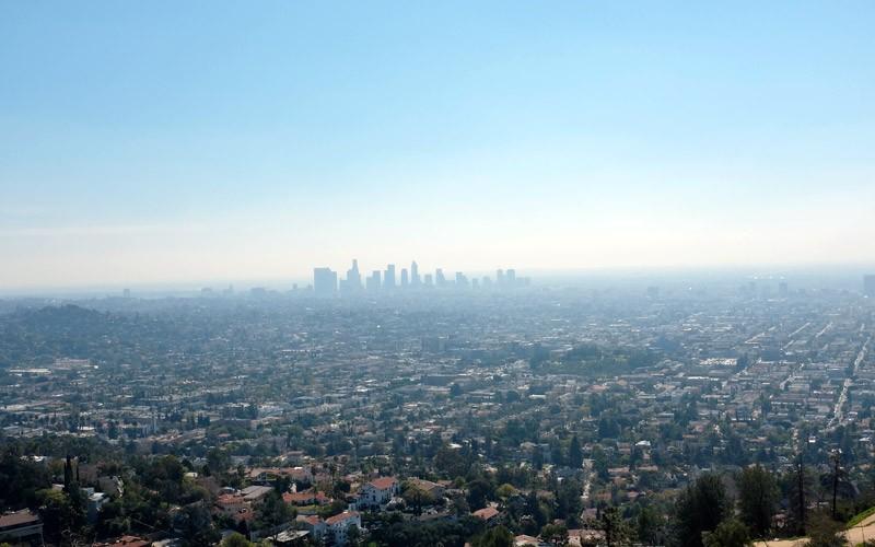 Blick über Los Angeles USA WESTKÜSTE Rundreise 3 Wochen