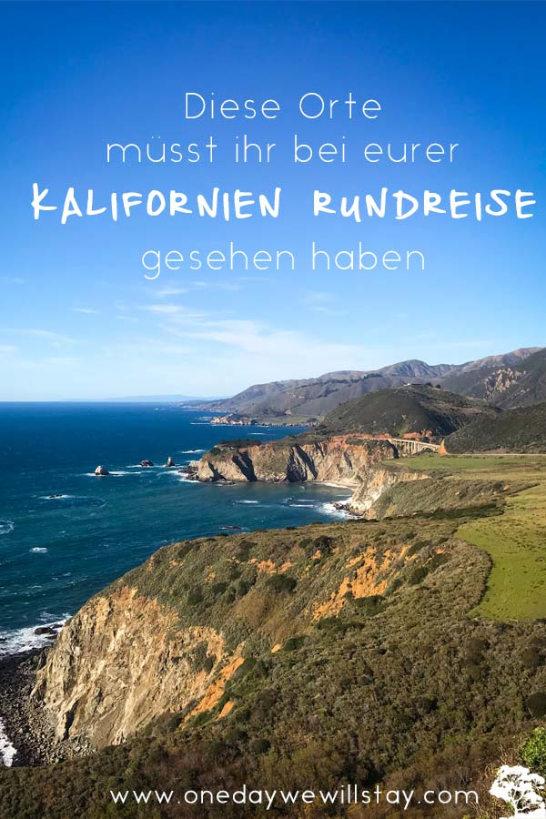 Roadtrip Kalifornien Tipps