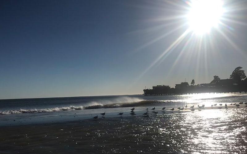Strand Capitola USA Westküste