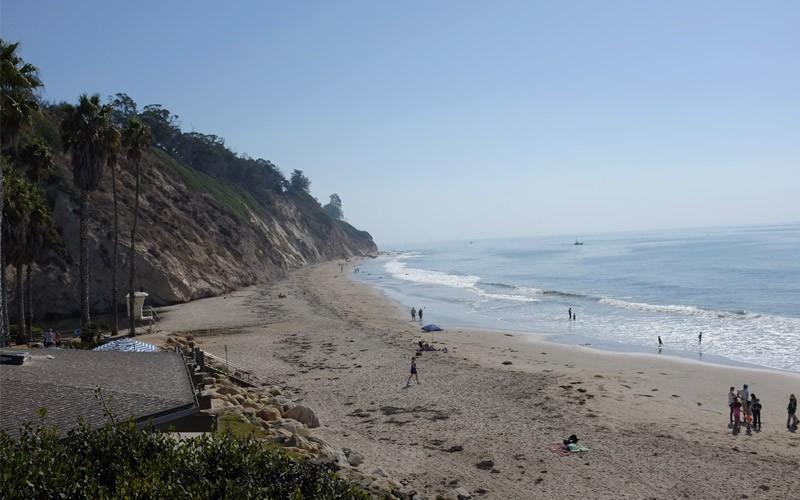Arroyo Burr Beach in Santa Barbara
