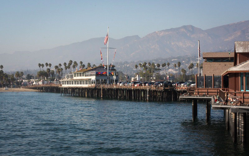Pier - Stearns Wharf in Santa Barbara