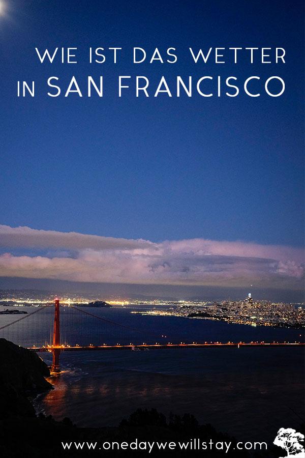 Wetter und beste Reisezeit für San Francisco