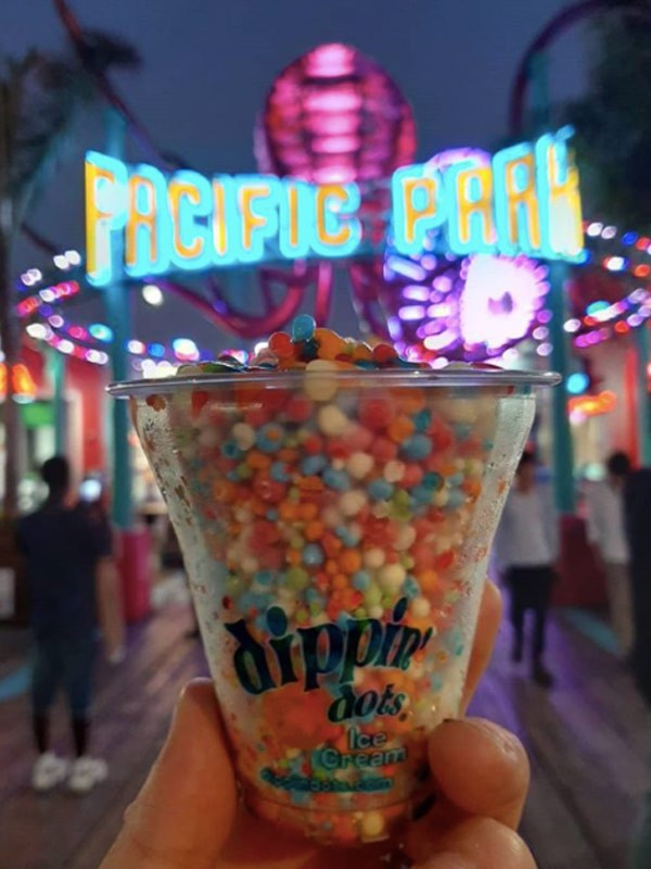 dippin dots pacific park