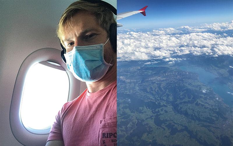 Am Flug nach Bordeaux