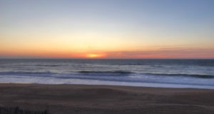 Sonnenuntergang Hossegor