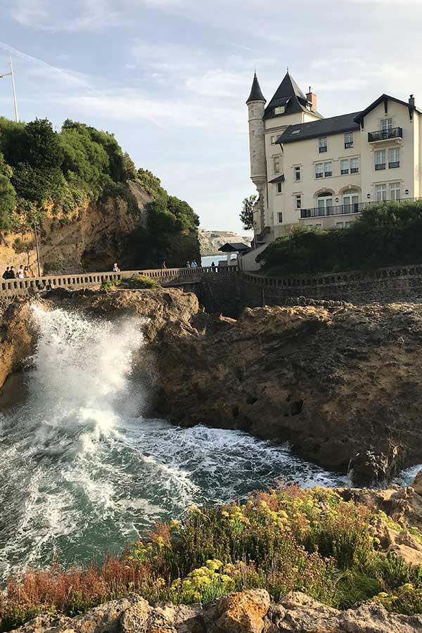 Biarritz in Frankreich