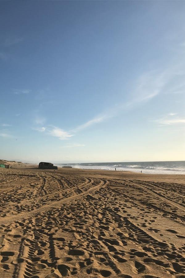 Strand in Labenne-Océan