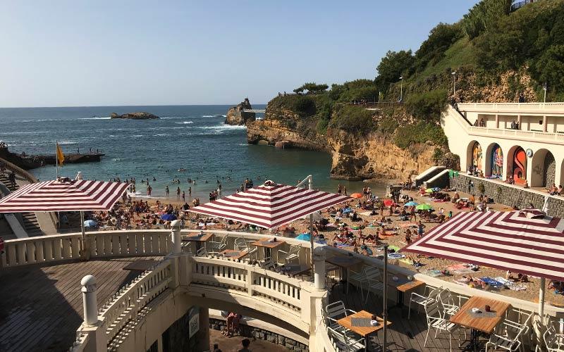 Stadtstrand Biarritz